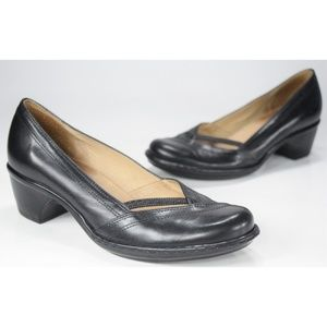 Clarks Artisan Sugar Sky Brazilian Black Pumps 7M